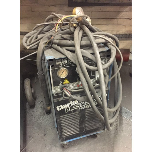Clarke Plasma King 70 Torch and Leads and regulator