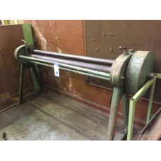 "Rhodes Manual Bending Rolls, 72"""