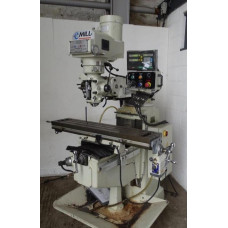 "XYZ E Mill Turret Milling Machine 10x50"""