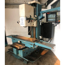 Semco VMC 1000 CNC Bed Mill Model 1000, Anilam 1100M Control,