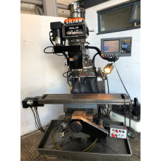 """Lilian Model 5VH, Year 2000, Table 10 x 54"""", 40 Int Spindle, Acu Rite"""