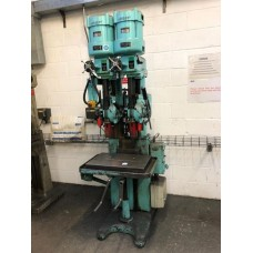 Herbert (2) spindle in line drill. Geared head 2M.T.