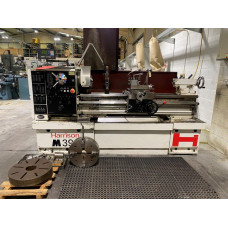 Harrison M390 Gap Bed Centre Lathe with Newall Topaz 2 Axis DRO.